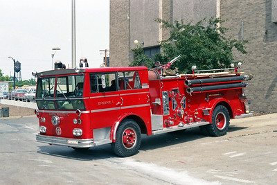 RACINE FD  ENGINE 1  1963  WLF AMBASSADOR   1000-500