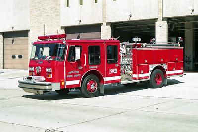 RACINE FD  ENGINE 1  1989  E-ONE HUSH   1500-500