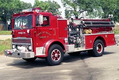 TOWN OF BELOIT FD WI  ENGINE 21  1978  MACK MC - PIERCE   1250-750    #7206-C