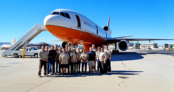 USFS Field Trip to FICC Dispatch Center and Air Tanker Base, San Bernardino CA October 20, 2018