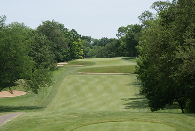Par 4 8th at Springfield Country Club.