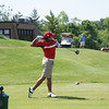Albin Choi, 2010 Canadian Amateur Champion and collegiate stand-out at NC State University, tees off on the 10th hole at Springfield CC.