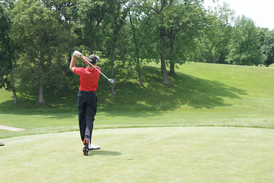 Having just graduated from high school on Friday, Patrick Rodgers was in second place following a 67 on his opening 18.