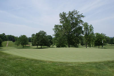 View from behind the par 4 8th at Springfield CC.