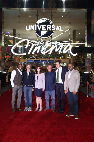 Spielberg, Peele help launch revitalized UNIVERSAL CINEMA at Universal CityWalk Hollywood