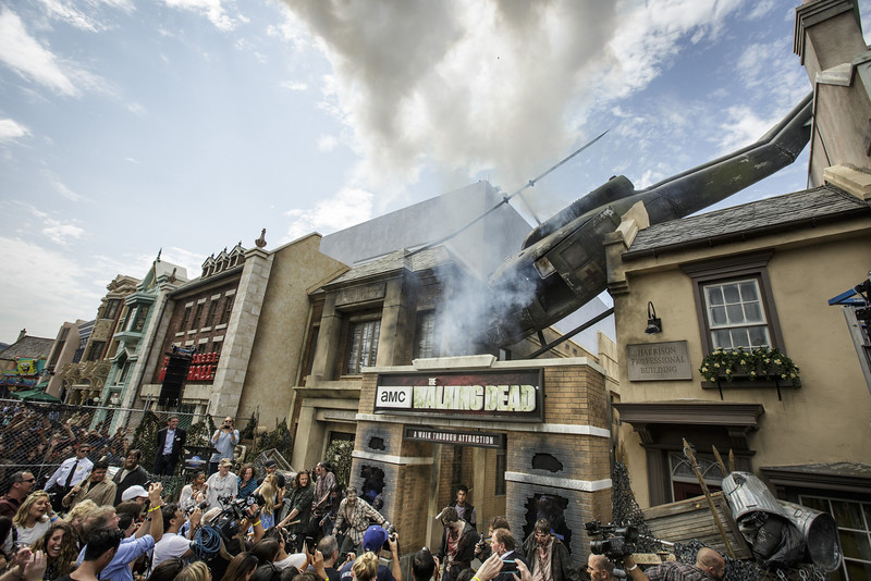 THE WALKING DEAD horror attraction at Universal Studios Hollywood to close March 4