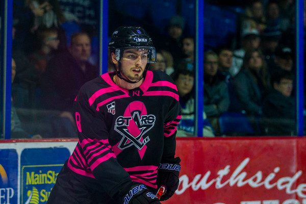 Pink The Rink Jersey Auction Night Omaha Lancers vs, Lincoln Stars at The Ice Box Arena in Lincoln NE - Brandon Anderson Photos - January 3, 2020