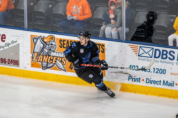 Lincoln Stars vs Omaha Lancers at the Ralston Arena in Ralston NE - Brandon Anderson Photos - January 5, 2020