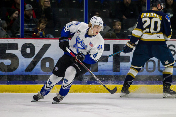 Lincoln Stars vs Sioux Falls Stampede at the Ice Box in Lincoln NE - Brandon Anderson Photos - January 10, 2020