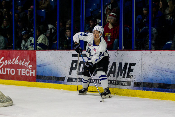 Lincoln Stars vs Sioux Falls Stampede at the Ice Box in Lincoln NE - Brandon Anderson Photos - January 11, 2020