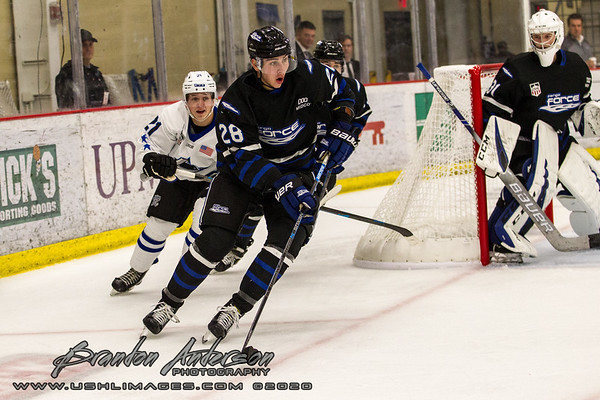 USHL Fall Classic in Pittsburgh PA Lincoln Stars vs Fargo Force  - Brandon Anderson Photos - September 26, 2019