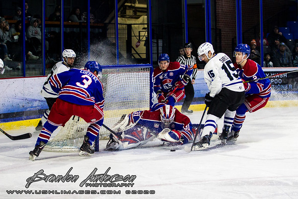 Teddy Bear Toss Night - Des Moines Buccaneers vs Lincoln Stars at The Ice Box Arena in Lincoln NE - Brandon Anderson Photos - December 14, 2019