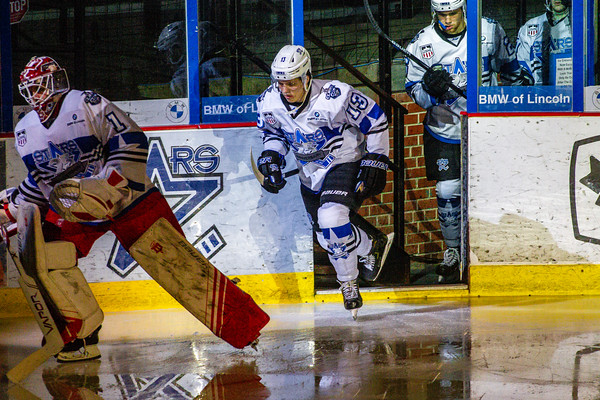 USHL Regular Season Action between the Lincoln Stars and Des Moines Buccaneers Feb 5, 2021 © Brandon Anderson 2021