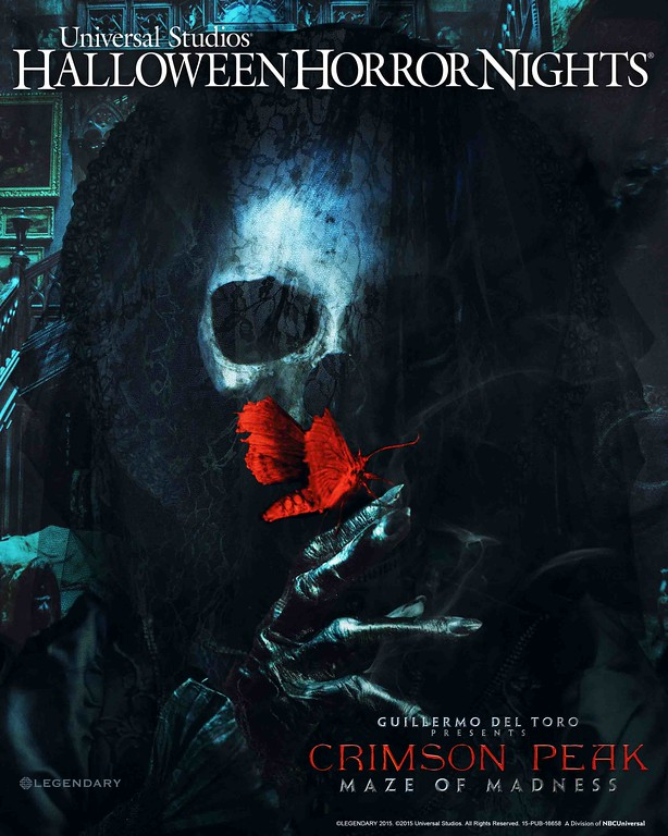 Guillermo Del Toro 'Crimson Peak' comes to life at Halloween Horror Nights 2015
