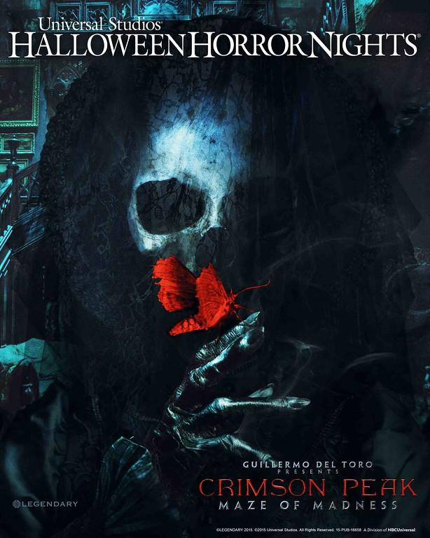 Guillermo Del Toro 'Crimson Peak' comes to life at Halloween Horror Nights 2015