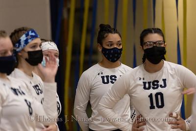 University of St. Joseph vs Elms College Womens Volleyball (Senior Night)