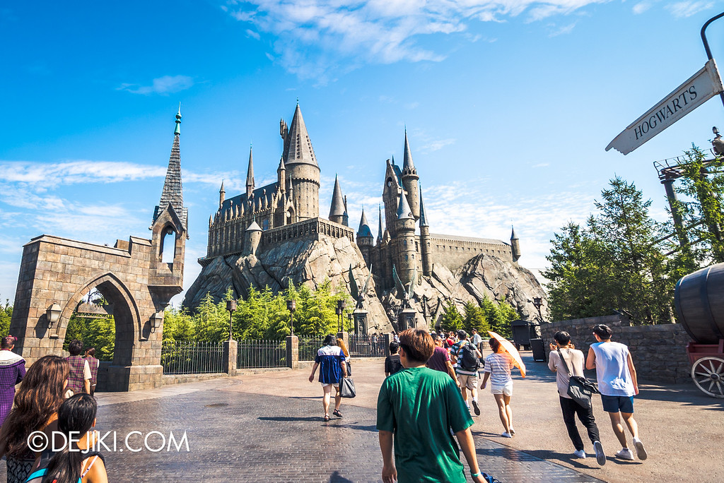 Universal Studios Japan - Hogwarts Castle, Harry Potter and the Forbidden Journey
