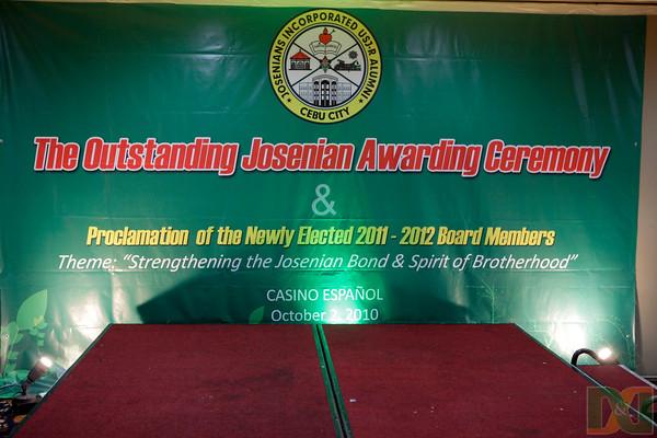 The Outstanding Josenian Awarding Ceremony