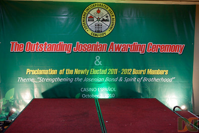 The Outstanding Josenian Awarding Ceremony