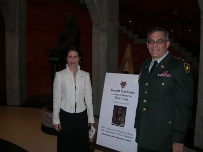 Dedication of Kosciuszko USMA 2008