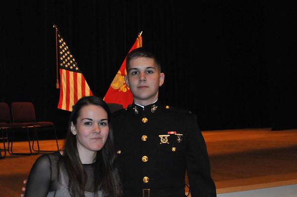 USMC TBS Graduation 29Jan14