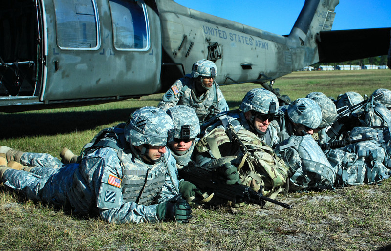 Dec 2011 3rd Infantry Division Unit Ministry Team training on Ft. Stewart, Georgia.