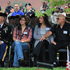 Memorial Service on the Warriors  Walk for a fallen 3rd Infantry Division soldier on Ft. Stewart, GA.  March 2012.