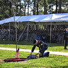 Memorial Ceremony for another 3rd Infantry Division Dog Face Soldier at the Warriors Walk on Ft. Stewart, GA.
