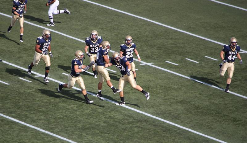 USNA Football 2010