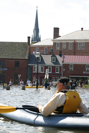 Natural Disaster...Flood in Annapolis