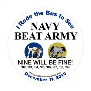 Army Navy Game 2010