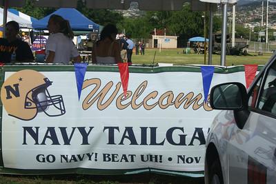 Navy Football vs Hawaii Nov. 28, 2009