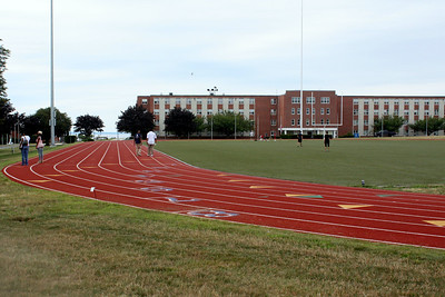 Nimitz Hall - Food Track and Football Field