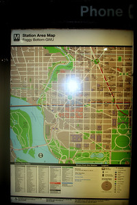 Wed Aug 8, 2012 Taking Metro Subway to Old Post Office