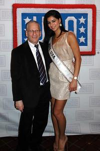 Isaac Michalowski (BAE Systems),  Rima Fakih Miss USA 2010
