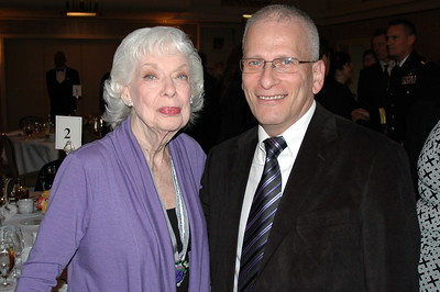 Joyce Randoph (Trixie) The Honeymooners and Isaac Michalowsk  (BAE Systems)