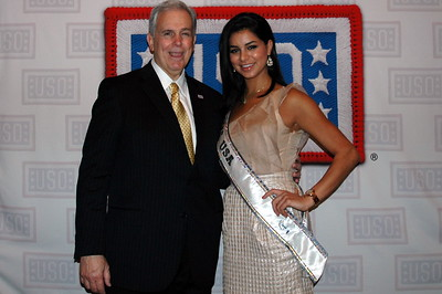 Mike Hallissy BAE Sytsems,  Rima Fakih Miss USA 2010
