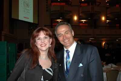 Lorraine Cancro and Cort Millar