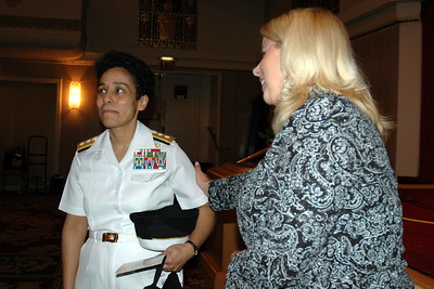 Rear Admiral Michelle Howard USN, Rita Cosby