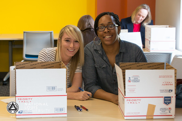 USO of Illinois - Care Package Program | May 16, 2017 | Chicago Campus