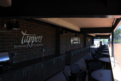 Inside the On-Field Diamond Table Suite, just one of the special amenities offered by the ballpark.