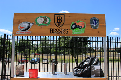 The ballpark features many local products, including Brooks Brewing, a Shelby Township-based microbrewery.