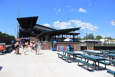 Digital First Media staff members and their families were invited to the ballpark June 27 for a tour and on-field activities, compliments of the USPBL.