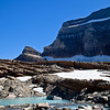 Grinnell Glacier and Upper Grinnell Lake