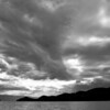 Lake along the road to Glacier National Park