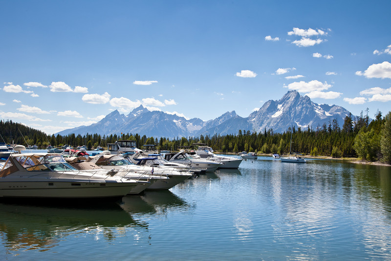 Marina at Colter Bay Village
