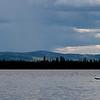Kayaker on Jenny Lake