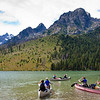 Kayakers on String Lake
