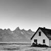 House along Mormon Row