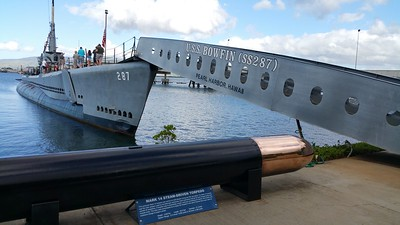USS Bowfin submarine Pearl Harbour 2016
